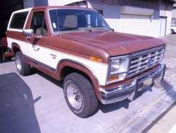 1986年 FORD BRONCO フォード・ブロンコ